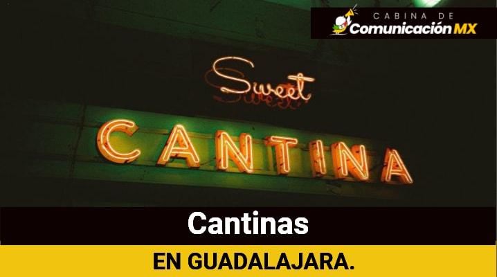Cantinas en Guadalajara