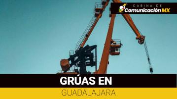 Grúas en Guadalajara