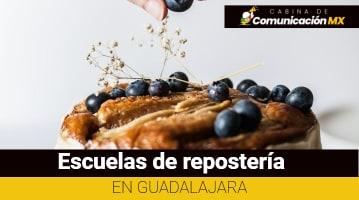 Escuelas de repostería en Guadalajara