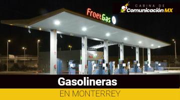 Gasolineras en Monterrey