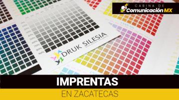 Imprentas en Zacatecas